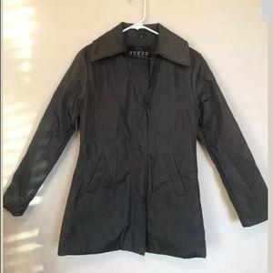 NWOT Guess Green Raincoat Peacoat SM Pea Coat
